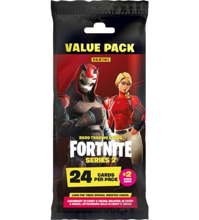 Fortnite 2 Trading Cards Value pack keräilykortit