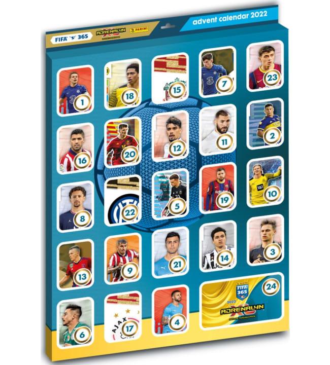 Panini Fifa 365 Adrenalyn XL joulukalenteri 2022