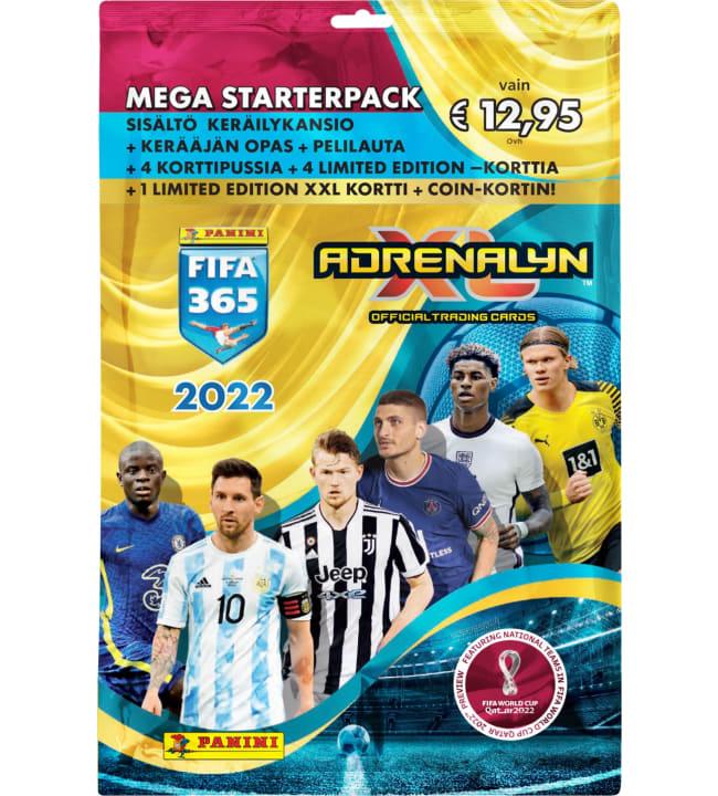 Panini FIFA 365 Adrenalyn XL jalkapallokortit aloituspakkaus