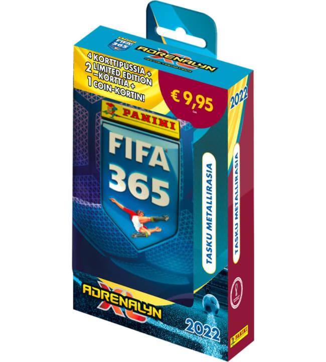 Panini FIFA 365 Adrenalyn XL tasku metallirasia