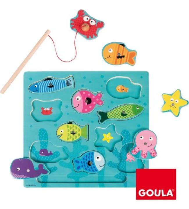 Goula kalastus magneettipalapeli