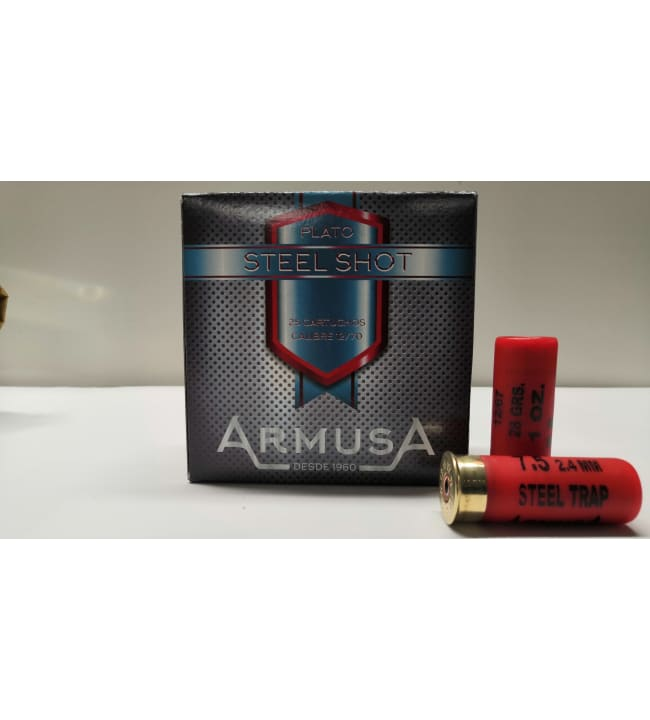 Armusa Steel Trap 12/70 28 g 25 kpl haulikonpatruuna