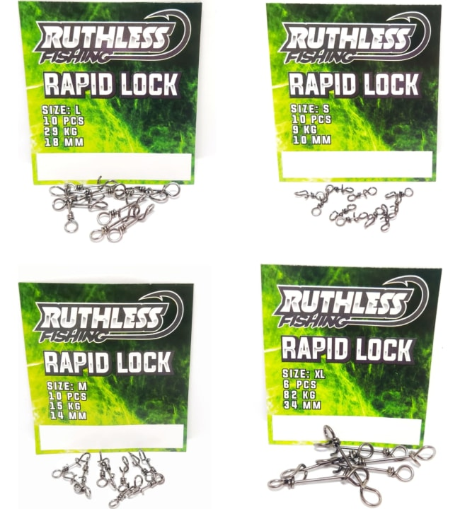 Ruthless Rapid Lock viehelukko