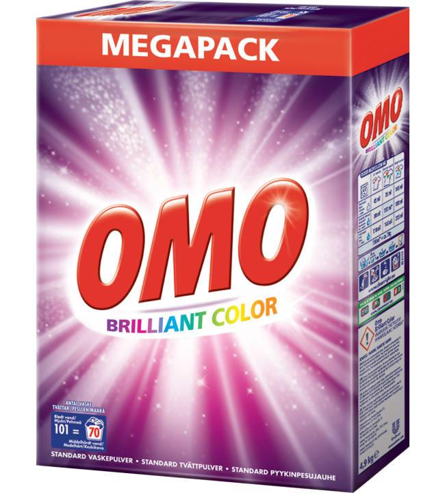Omo Color 4,9 kg pyykinpesujauhe