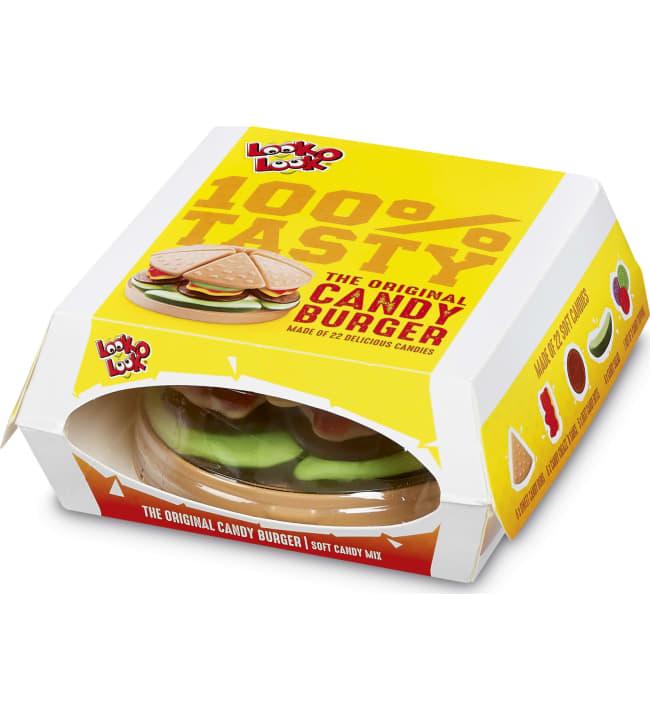Look-O-Look Candy Burger 130 g makeissekoitus