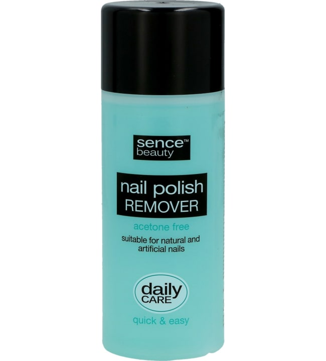 SenceBeauty Nail Polish Remover Acetone Free 200 ml kynsilakanpoistoaine