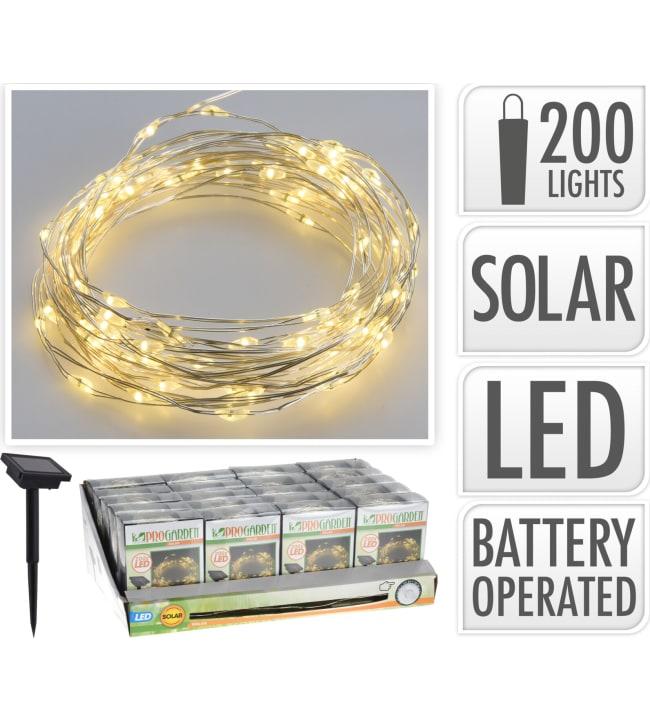 Pro Garden Solar 200 led valosarja