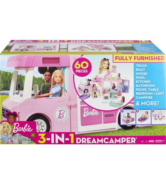 Barbie Dream Camper 3-in-1 asuntoauto