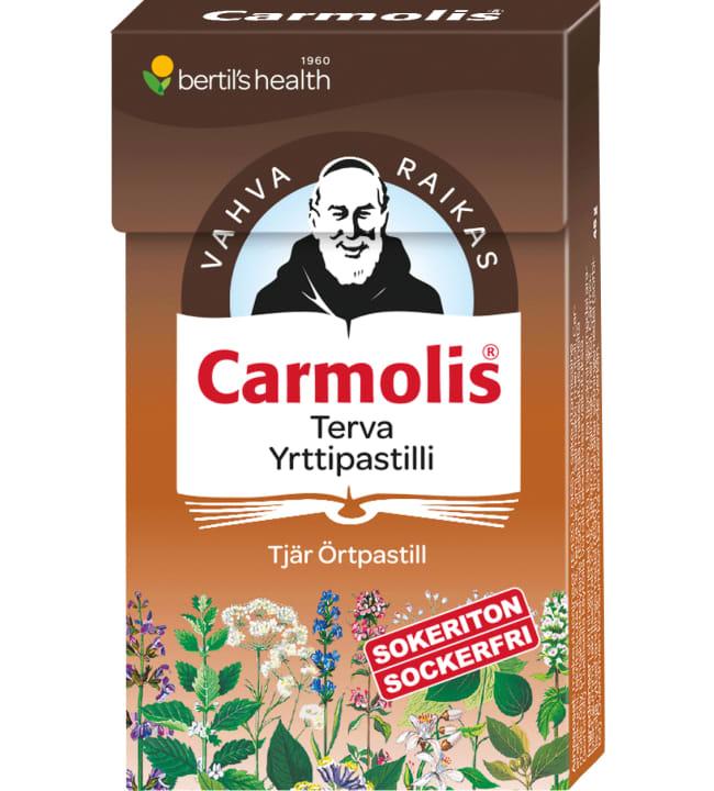 Carmolis Terva 45 g yrttipastilli