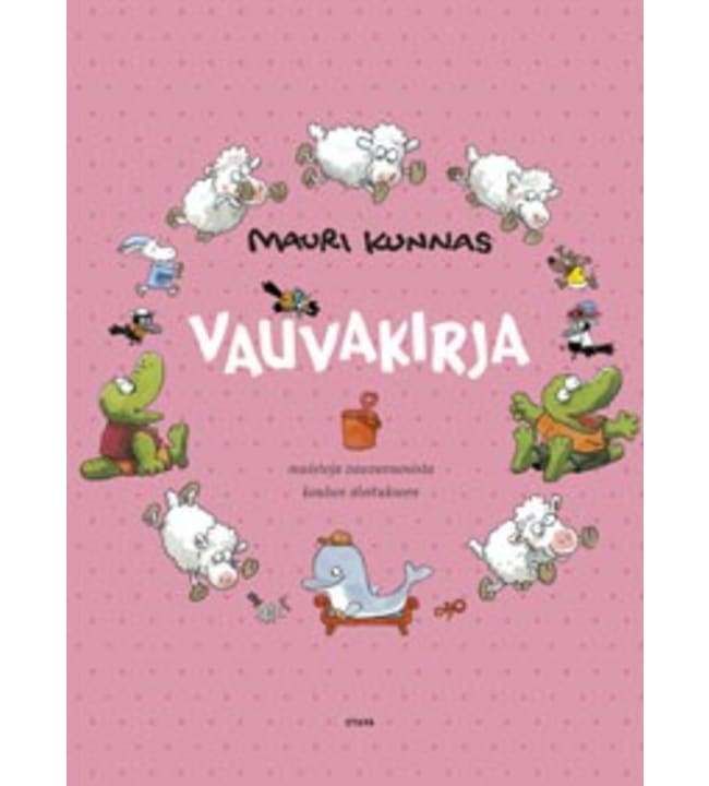 Mauri Kunnas: Vaaleanpunainen vauvakirja