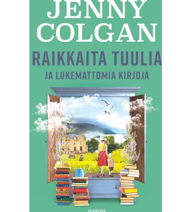 Jenny Colgan: Raikkaita tuulia ja lukemattomia kirjoja
