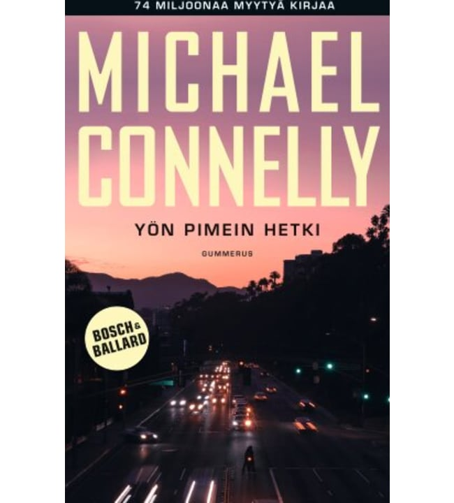 Michael Connelly: Yön pimein hetki pokkari
