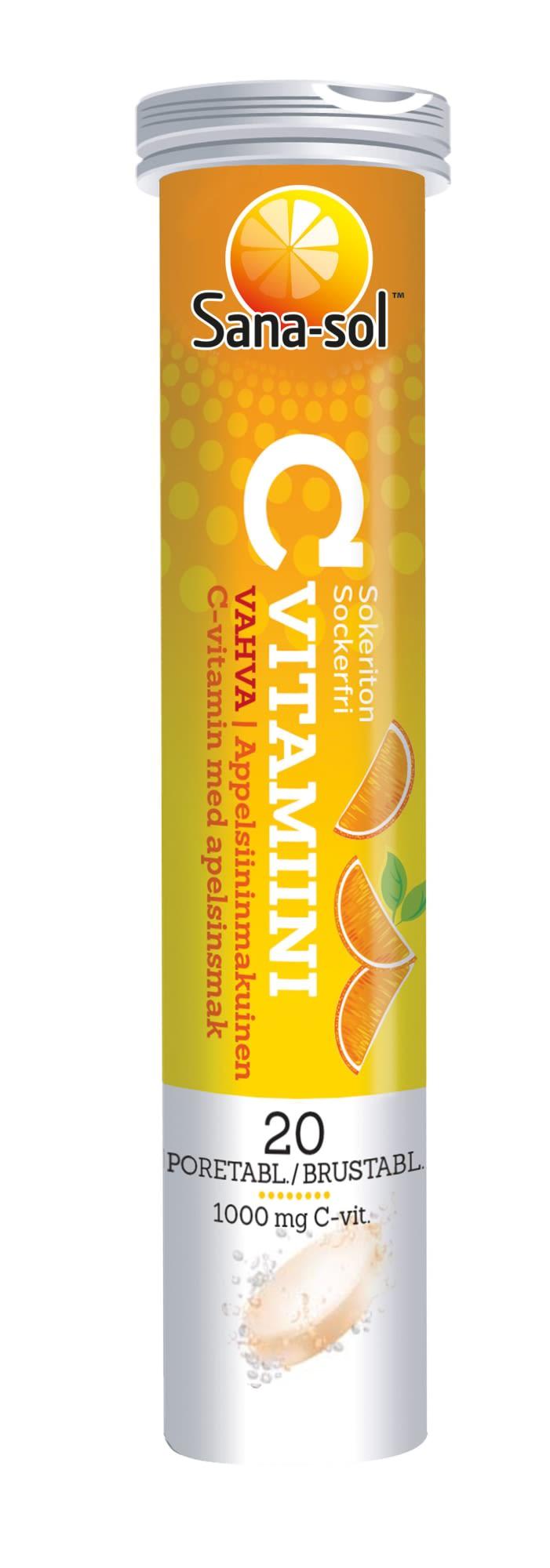 Appelsiini C Vitamiini