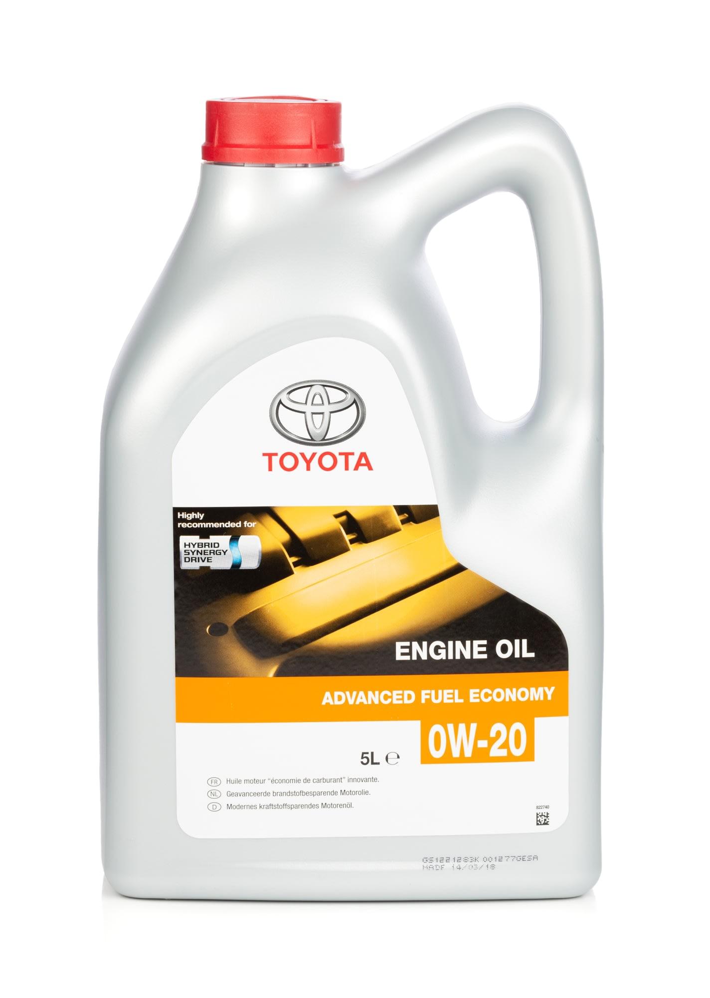Toyota Fuel Economy 5W 30 moottoriöljy, 5 l | tokmanni.fi