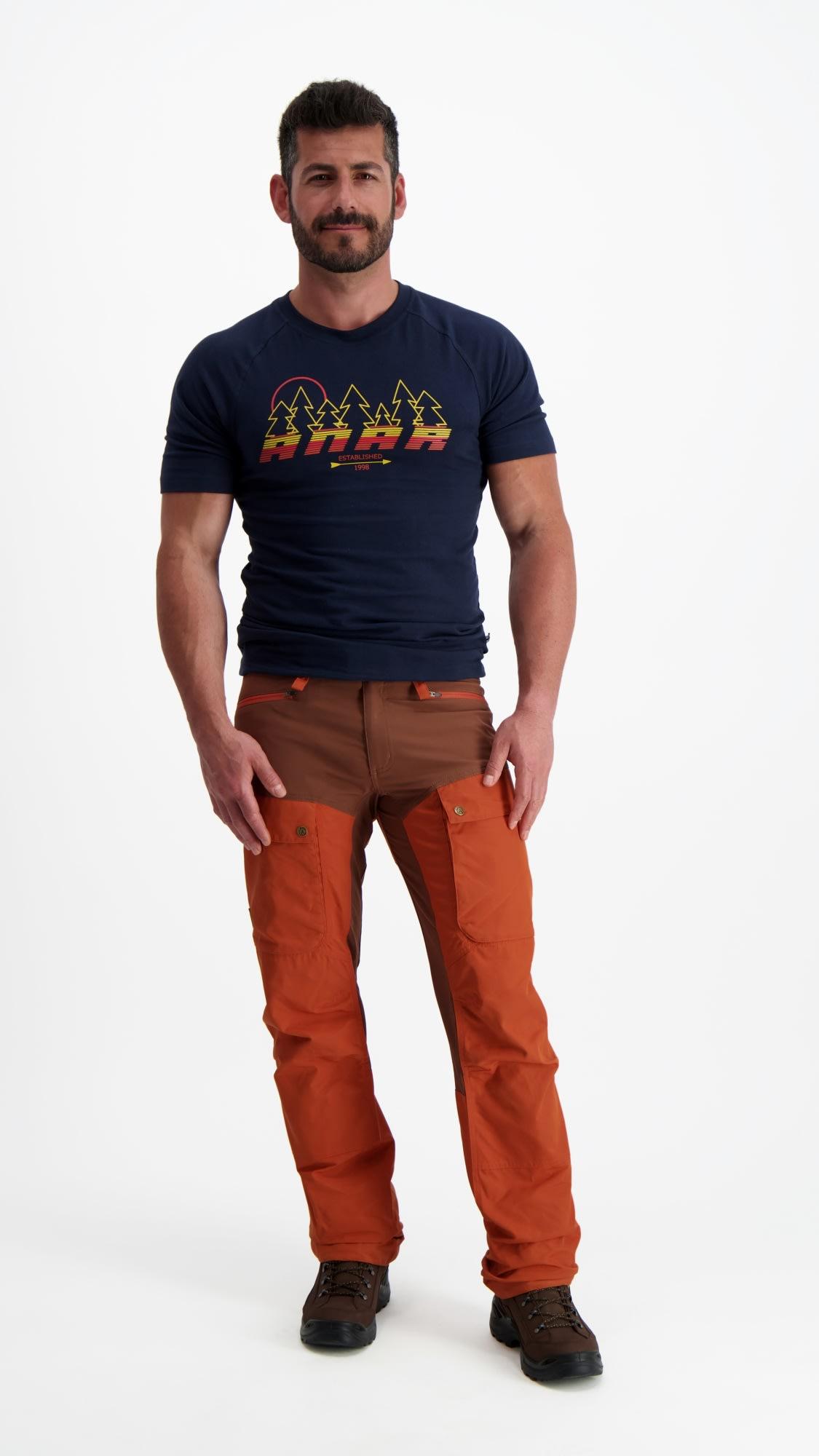 Anar Muorra miesten ulkoilutakki, oranssi | Miesten takit
