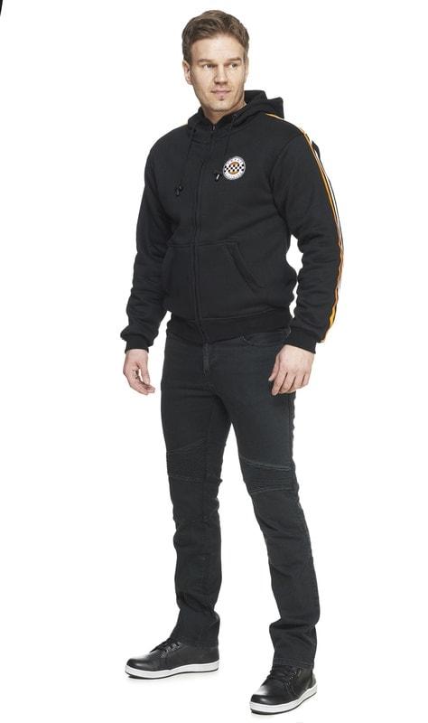 Sweep Tekstiilitakki Belfast WP, musta 6XL |