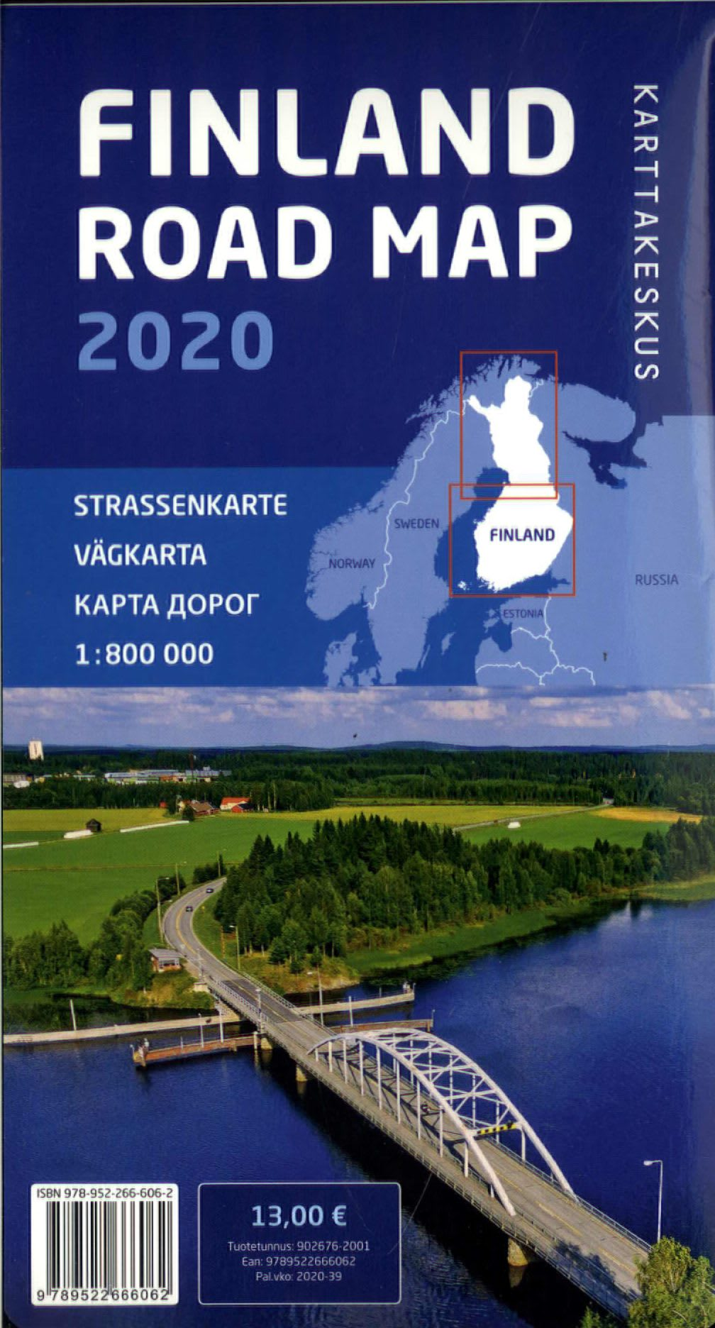 Tiekartta Suomi
